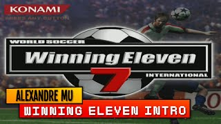 WINNING ELEVEN 7 INTERNATIONAL: INTRO HD - PlayStation 2