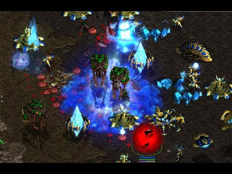 Jaedong (Z) v Goojilla (P) on Aztec - StarCraft  - Brood War REMASTERED