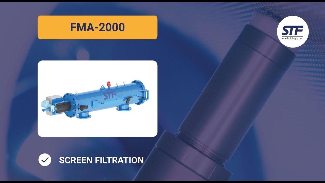 Filtro de malla autolimpiante fma 2000 stf filtros - Filtro de malla ...