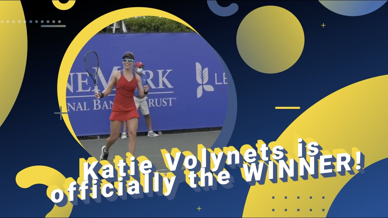 Interview with Katie Volynets & Paula Scheb after her Singles Victory!
