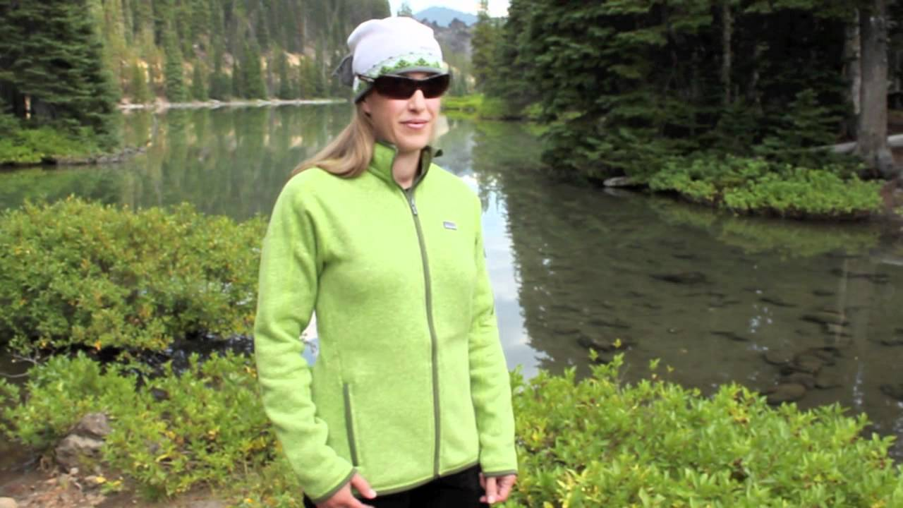 Patagonia Womens Better Sweater Full Zip Jacket Youtube