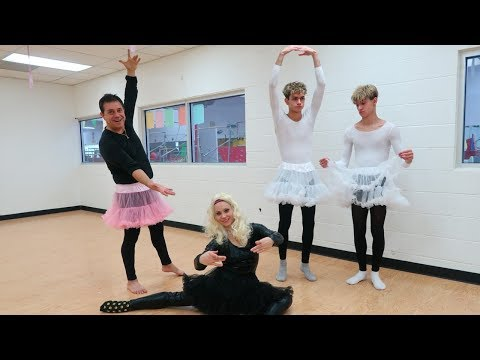 FUNNY DANCE CLASS WITH PARENTS!