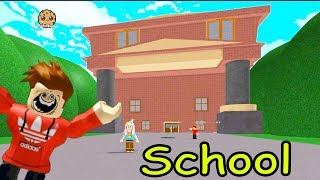 At School During Summer Break!? Escape the School Obby - Obstacle Course Roblox Game Play