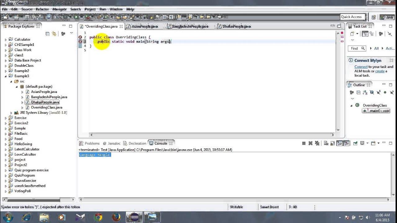 08 basic java tutorial in bangla inheritance overriding method 08 basic java tutorial in bangla inheritance overriding method with program baditri Image collections