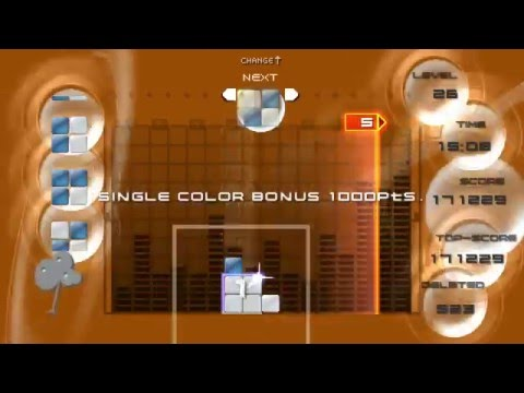 Lumines Puzzle Fusion: Episode 1: Challenge Mode