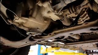 Замена масла в двигателе и фильтров Ford Ranger 2,5 TURBO Форд Рейнджер 2007 года