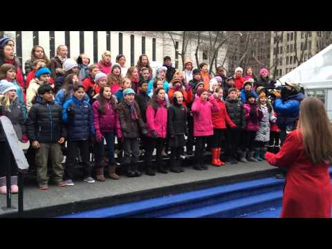 Liberty Corner School 5th grade chorus on Good Morning America