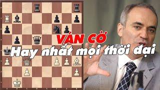 Ván cờ hay nhất trong lịch sử cờ vua thế giới