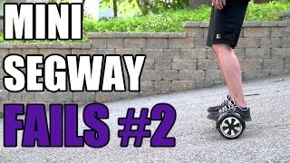HOVERBOARD/MINI SEGWAY FAILS #2(Hoverboard/Mini Segway Fails #2! A Collection of funny fails and moments in a compilation. The Hoverboard or Mini Segway is a two wheeled electric scooter ..., 2015-09-12T21:18:20.000Z)