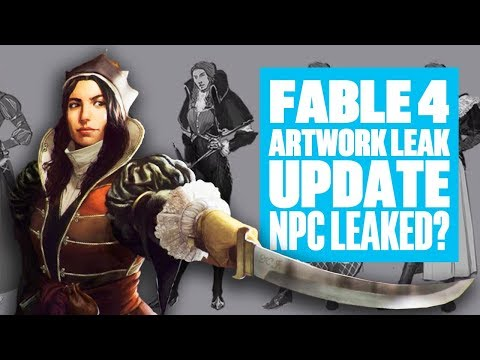 Fable 4 Leak Artwork Update - NPC Concept Art? FABLE 4 LEAKS