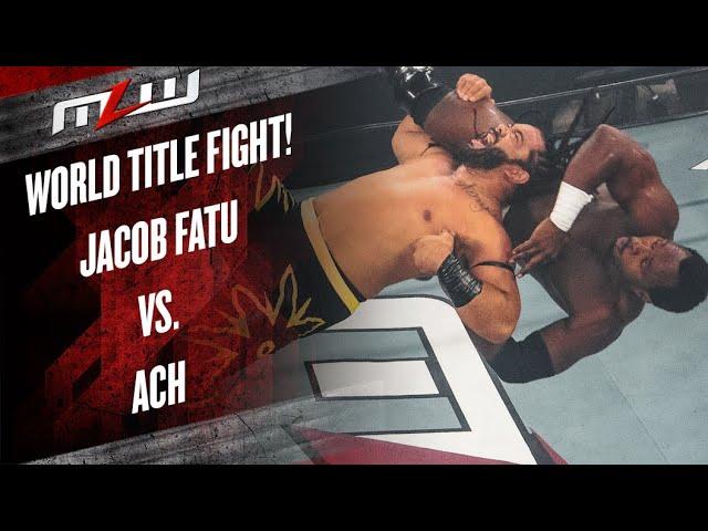 Jacob Fatu vs. ACH   World Heavyweight Championship