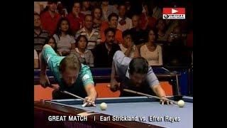Efren Reyes vs. Earl Strickland | GREAT BILLIARD MATCH
