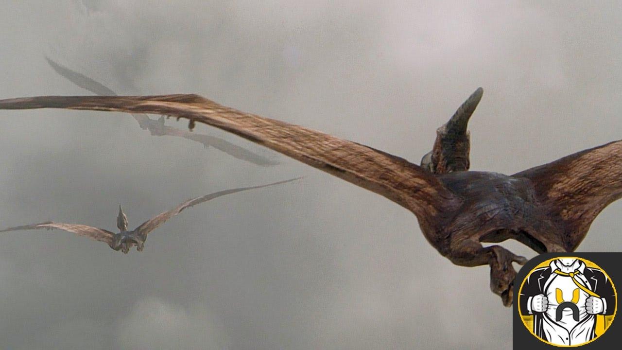 Jurassic Park 3 Pteranodon Scene
