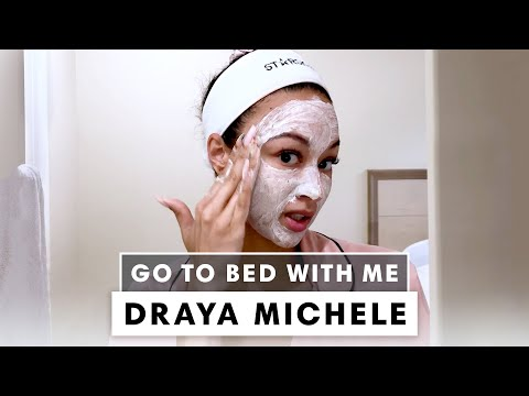 Draya Michele's Nighttime Skincare Routine For Dry Skin | Go To Bed With Me | Harper's BAZAAR