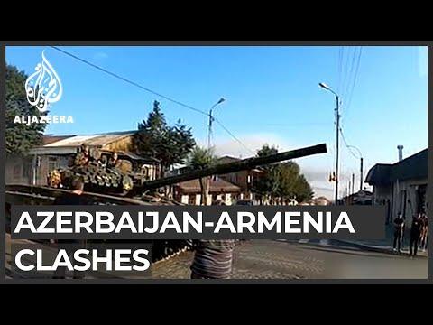 Azerbaijan and Armenia in heavy clashes on border region