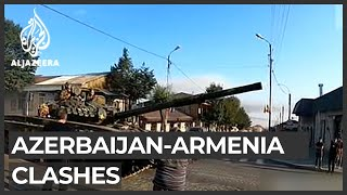 Azerbaijan and Armenia in heavy clashes on border region