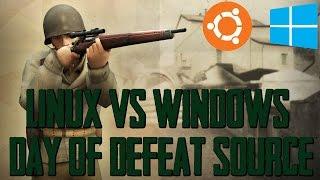 Day Of Defeat Source - Ubuntu 15.04 vs Windows 8.1 - GTX 980