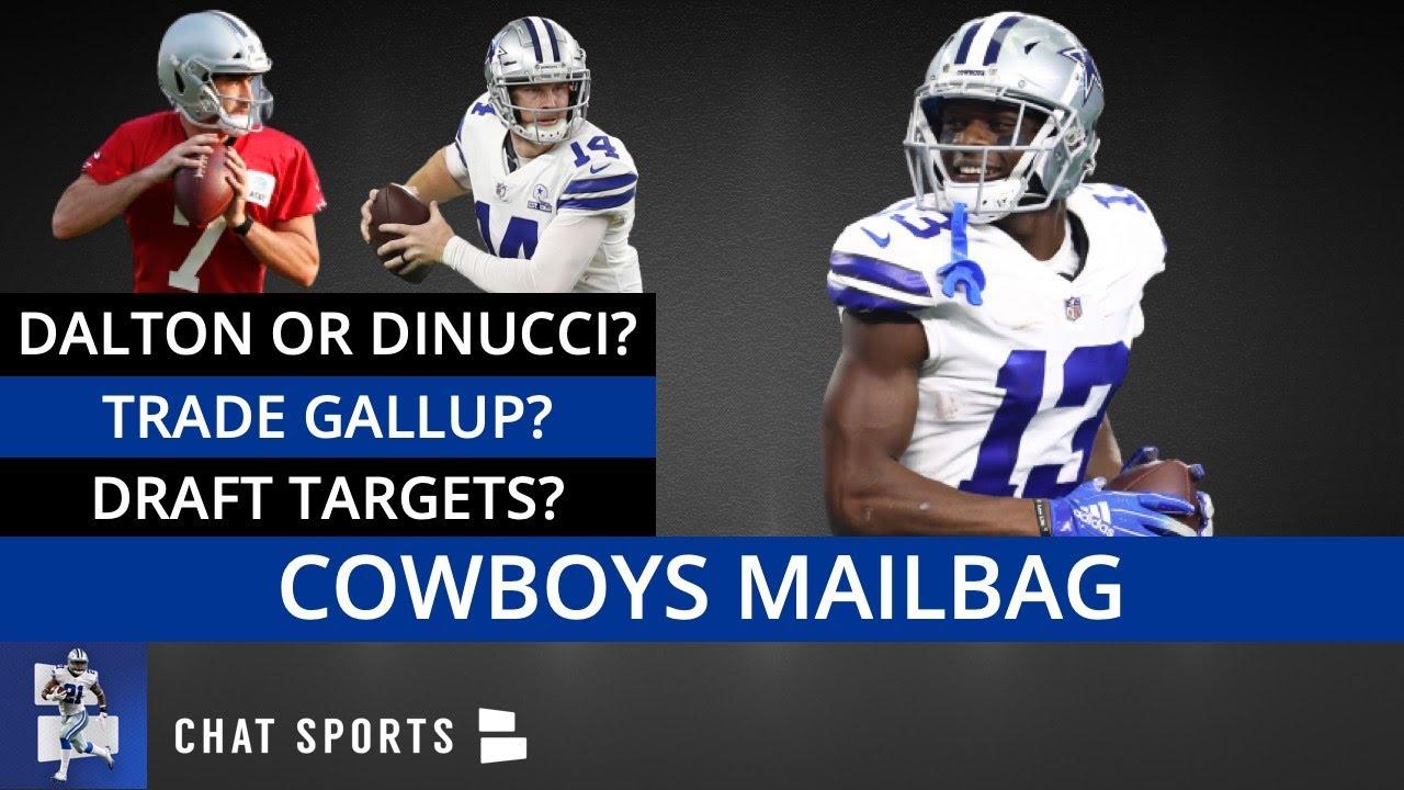 Cowboys Rumors Mailbag: Start Ben DiNucci? Michael Gallup Trade? Draft Targets? Coaching Changes?