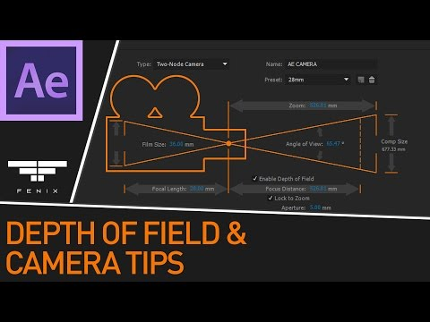 After Effects Depth of Field and other Camera Tips