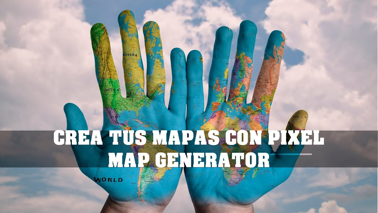 CREATE YOUR OWN MAPS WITH PIXEL MAP GENERATOR