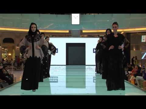 NOORAN  Fashion Show  In Dubai Mall