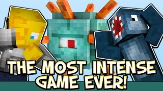 THE MOST INTENSE GAME EVER!! - MINECRAFT SPEED BUILDERS!