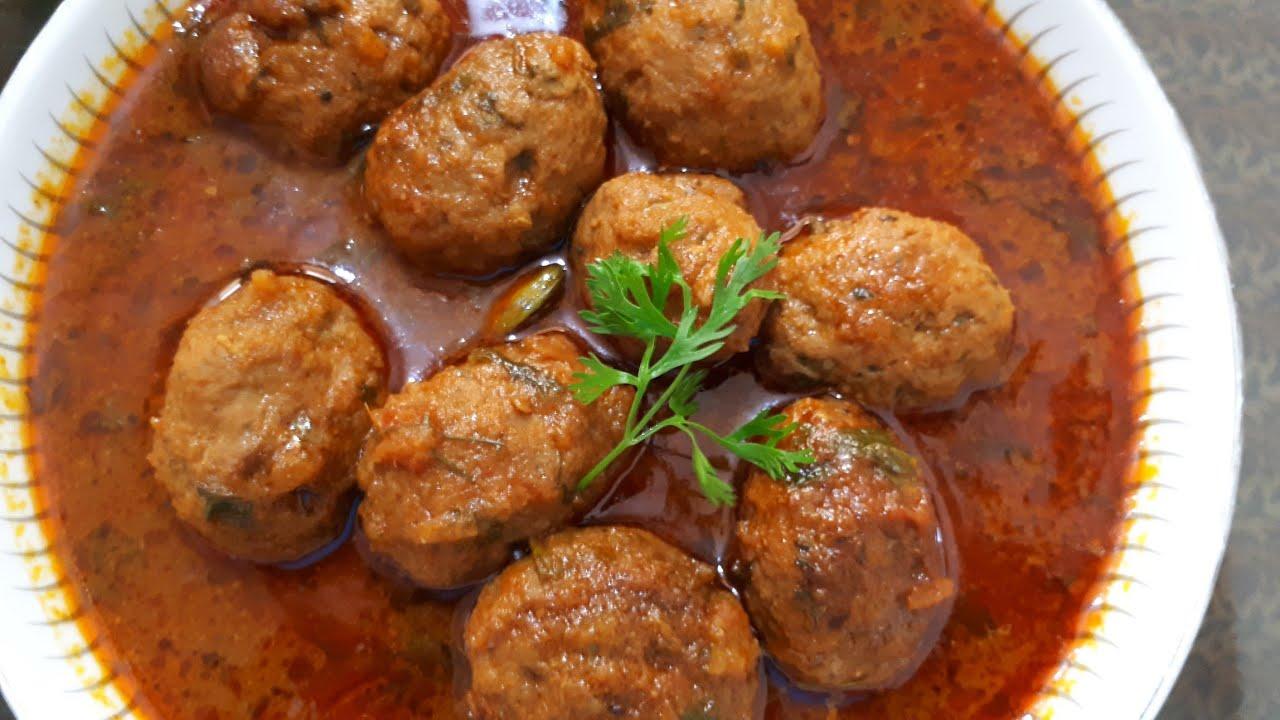 Lamb Koftas with Yoghurt Dressing – The Cookbook Network |Mutton Kofta Recipe