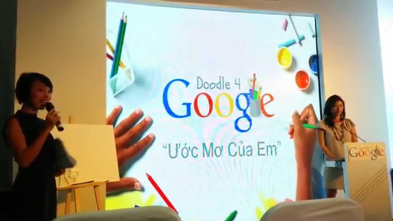 Google khởi động cuộc thi vẽ Doodles tại Việt Nam