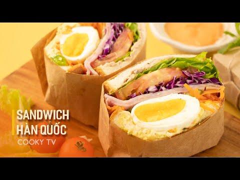 Sandwich Hàn Quốc - Tự làm bữa sáng đơn giản với Sandwich Hàn Quốc thơm ngon nức tiếng   Cooky TV