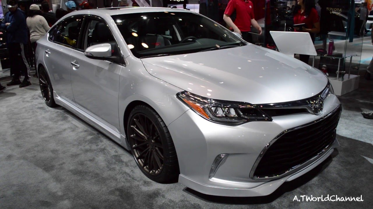 Grandpa S Car Upgrade Sema Edition Trd Toyota Avalon