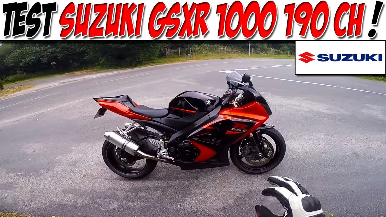 #MotoVlog 42 : TEST SUZUKI GSXR 1000 2008 190 CH / VEGA
