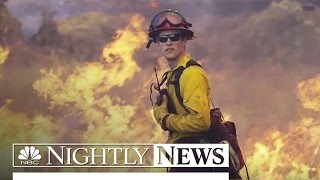 Wild Fires: Swallowing Neighborhoods, Torching Land | NBC Nightly News
