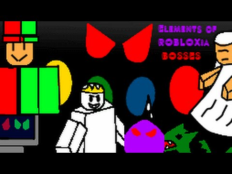 ROBLOX Boss Battles: Elements of ROBLOXia Edition