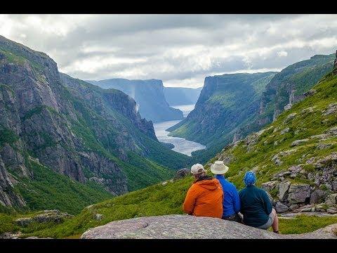 Western Brook Pond Fjord, Gros Morne National Park, Newfoundland And Labrador