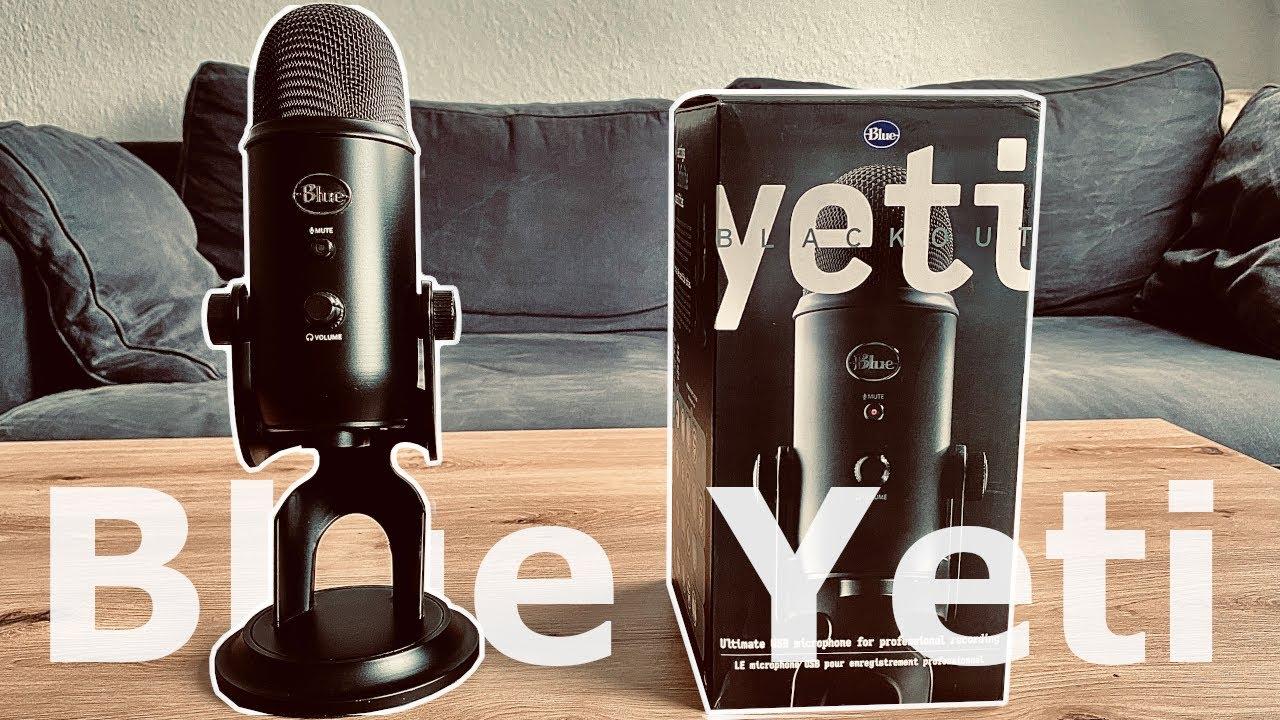 BLUE YETI | Bestes EINSTEIGER MIKROFON für Voiceover | YouTube | Twitch | Podcasts