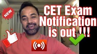 CET Exam Notification Out ! CET preparation Strategy ( JBIMS / Sydneham / KJ Somaiya / Welingkar )