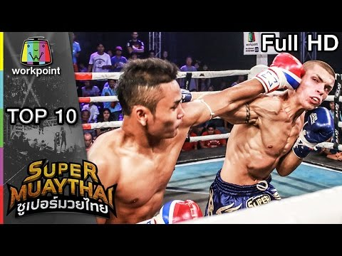 TOP-10 KO on SUPER MUAYTHAI