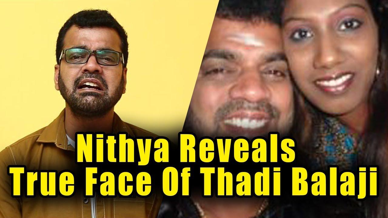 Thadi Balaji Wife Nithya Reveals Full Details About Him | Shocking News  About Thadi Balaji