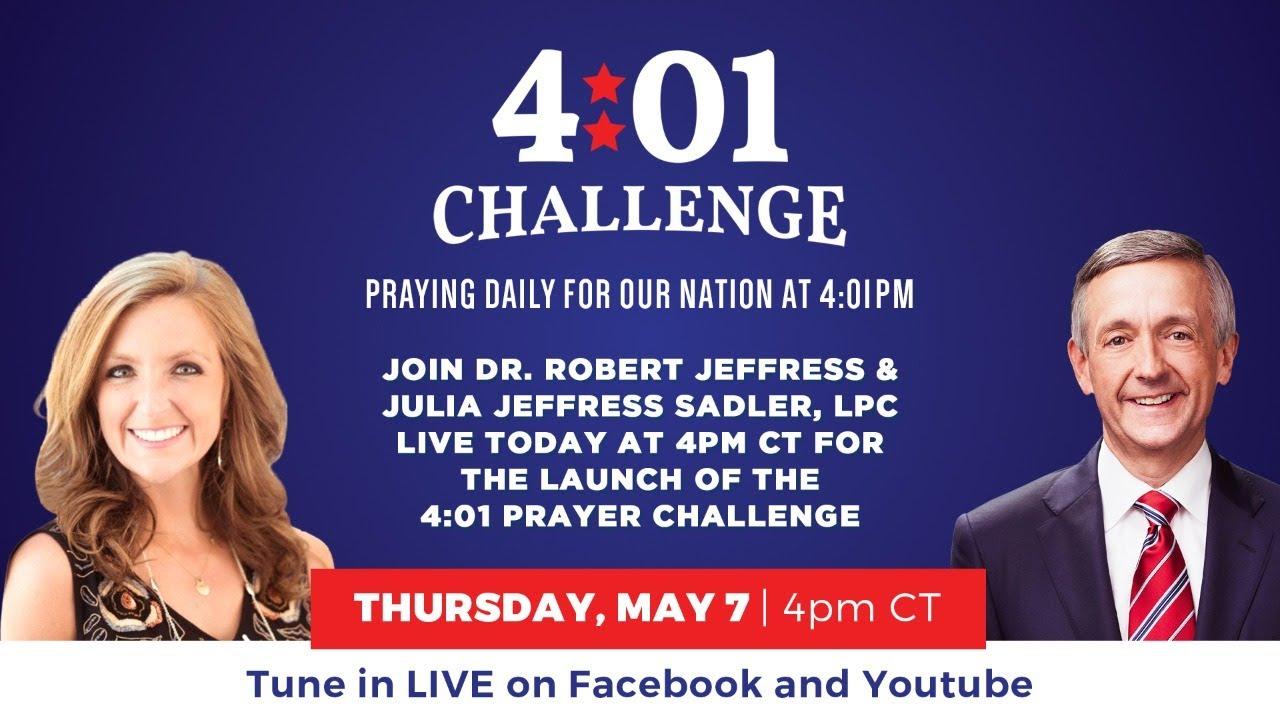 Robert Jeffress Launches 40-Day Prayer Campaign Asking God to End Coronavirus Plague