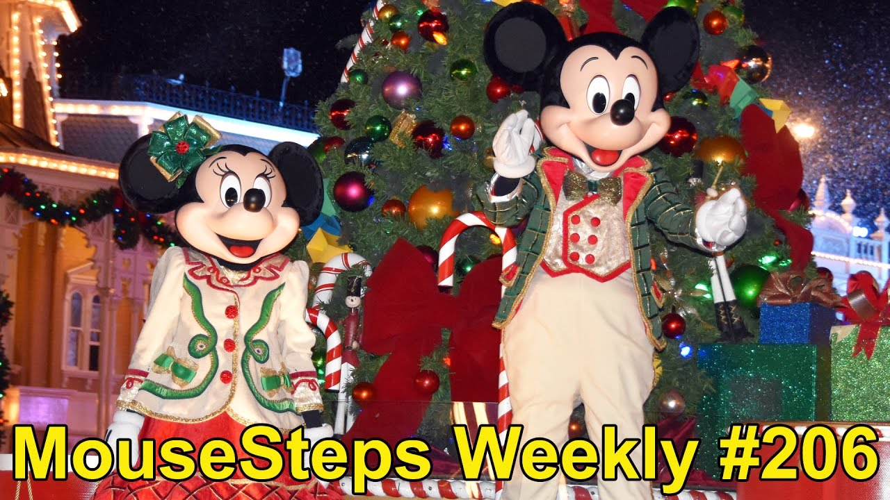 mousesteps weekly 206 mickeys very merry christmas party overview tips for 2016 many changes youtube - Mickeys Very Merry Christmas
