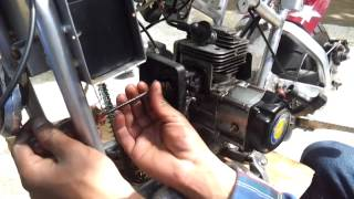 49cc cat eye pocket bike repair
