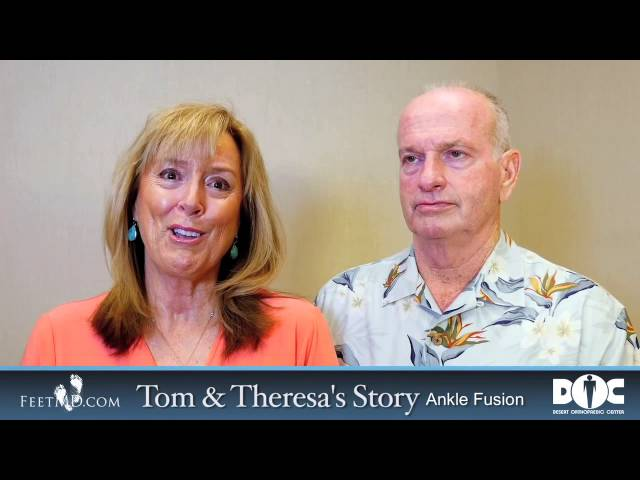 Husband and Wife Discuss Benefits of Ankle Fusion