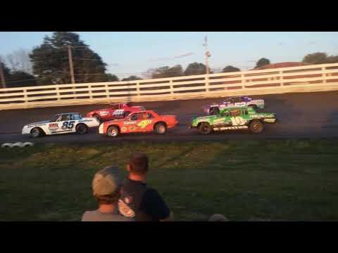 Southern Iowa Speedway Stock Car A-Main 6-12-19
