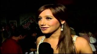 "High School Musical 3: Senior Year: Ashley Tisdale ""Sharpay Evans"" Premiere Interview"