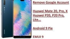 Huawei MATE 9 FRP unlock
