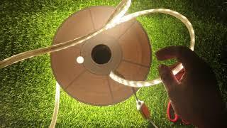 Đèn led dây happy 1 màu ánh sáng vàng cao cấp
