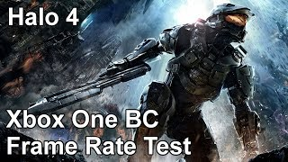 Halo 4 Xbox One vs Xbox 360 Backwards Compatibility Frame Rate Test