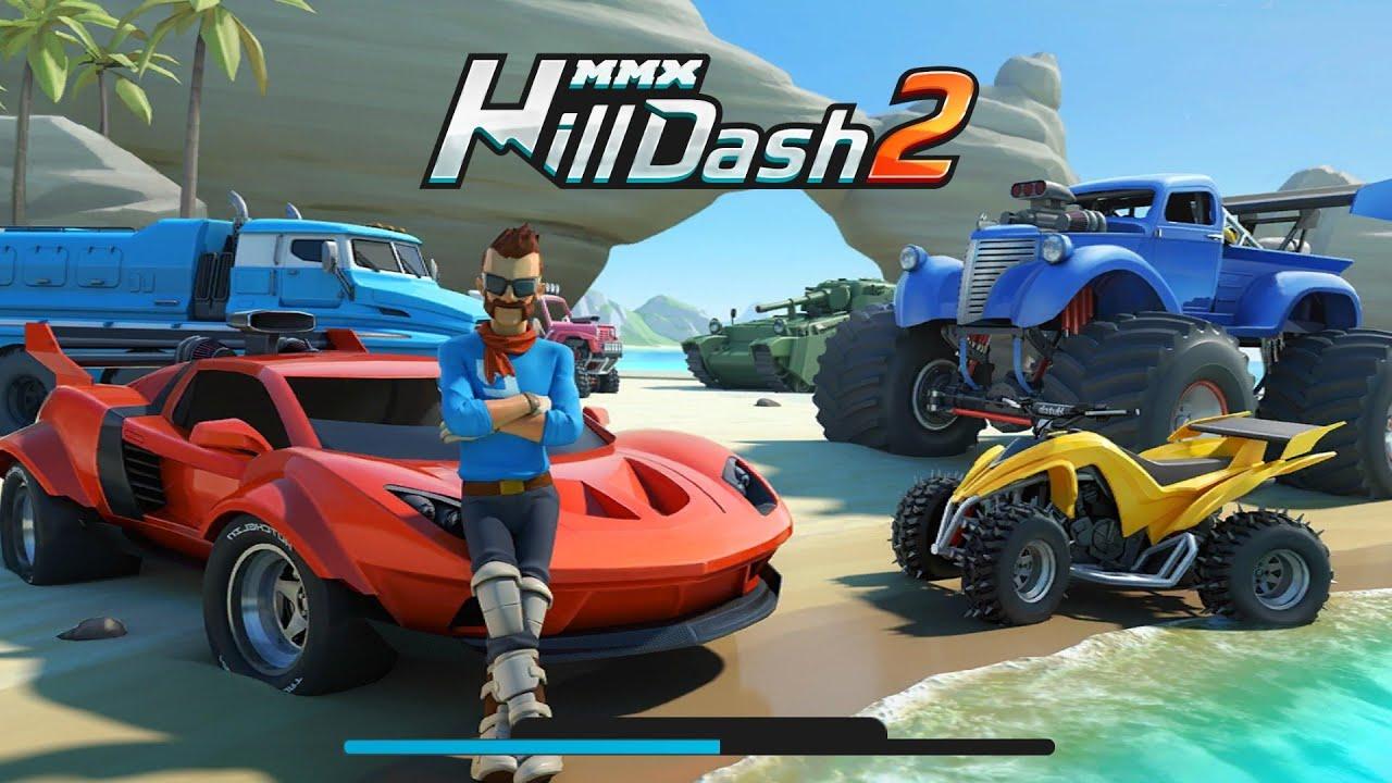 Hill Dash 2.Гонки по Бездорожью.Мультик Игра Для Детей.
