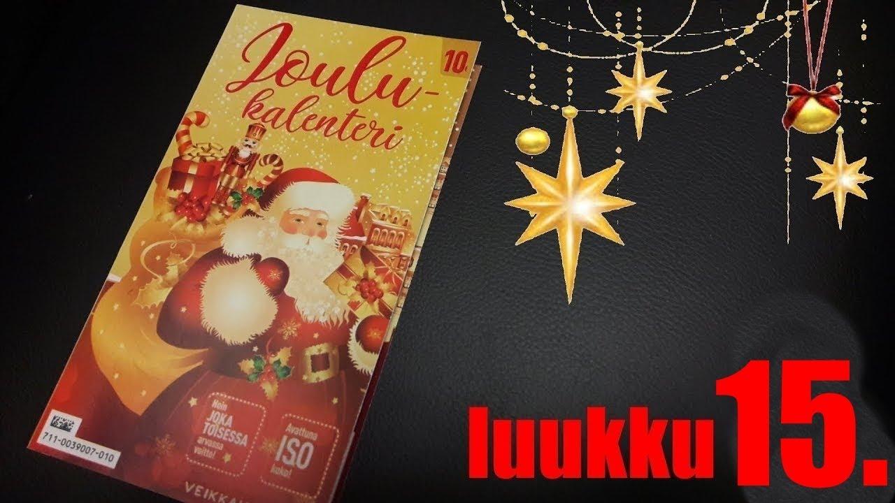 Joulukalenteri Arpa