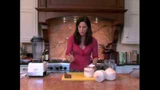 How To: Raw Coconut Milk With Diana Stobo.